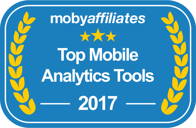 Top Mobile Analytics Badge